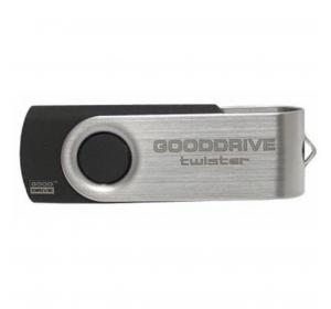 Флеш память USB GOODRAM 4GB TWISTER BLACK USB 2.0 (UTS2-0040K0R11)