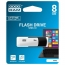Флеш память USB GOODRAM 8GB Colour Mix Black/White USB 2.0 (UCO2-0080KWR11)