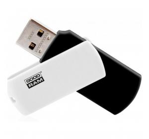 Флеш память USB GOODRAM 16GB UCO2 (COLOUR MIX) BLACK/WHITE USB 2.0 (UCO2-0160KWR11)