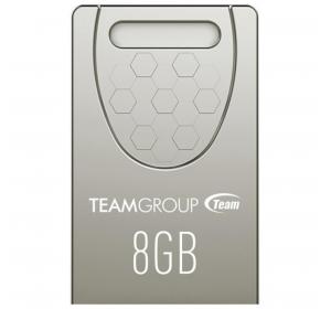 Флеш память USB TEAM 8GB C156 SILVER USB 2.0 (TC1568GS01)