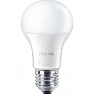 PHILIPS LEDBULB E27 9.5-60W 230V 4000K A60/PF  ...