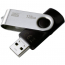 Флеш память USB GOODRAM 128GB UTS2 Twister Black USB 2.0 (UTS2-1280K0R11)