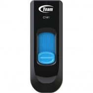Флеш память USB TEAM 4GB C141 BLUE USB 2.0 (TC ...