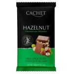 Шоколад CACHET milk with hazelnut 300 g