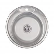 Кухонная мойка LIDZ 490-A (0,6ММ) SATIN 160 (L ...