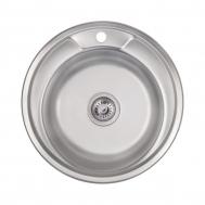 Кухонная мойка LIDZ 490-A (0,6ММ) DECOR (LIDZ4 ...