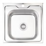Кухонная мойка LIDZ 5050 0.6ММ SATIN 160