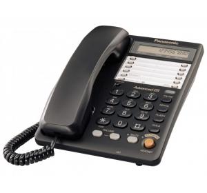 Проводной телефон PANASONIC KX-TS2365RUB BLACK