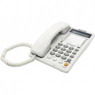 Проводной телефон PANASONIC KX-TS2365RUW WHITE