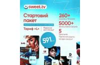 Дополнительные устройство СТАРТОВЫЙ ПАКЕТ SWEET TV (ТАРИФ L)