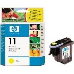 HP NO.11 DESIGNJ10PS/ 500/ 800/ CP1700 YELLOW (C4813A)