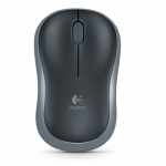 Мышка LOGITECH WIRELESS MOUSE M185 GREY USB (910-002238)